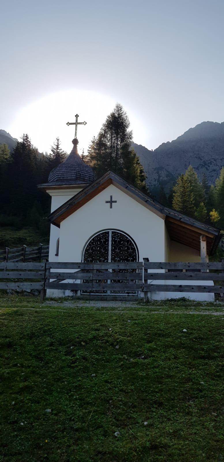 Kapelle an der Eppzirler Alm