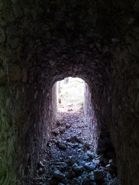 Tunnel in der Portaclaudia