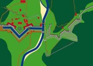Grundriss der Portaclaudia