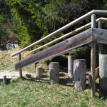 Barfusswanderweg am Kranzberg bei St.Anton