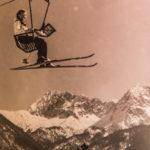 Kranzberg Sessellift in den 60ern