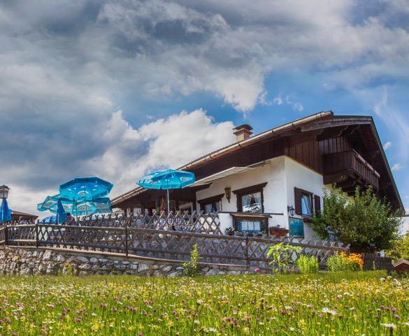 Der Berggasthof Ederkanzel